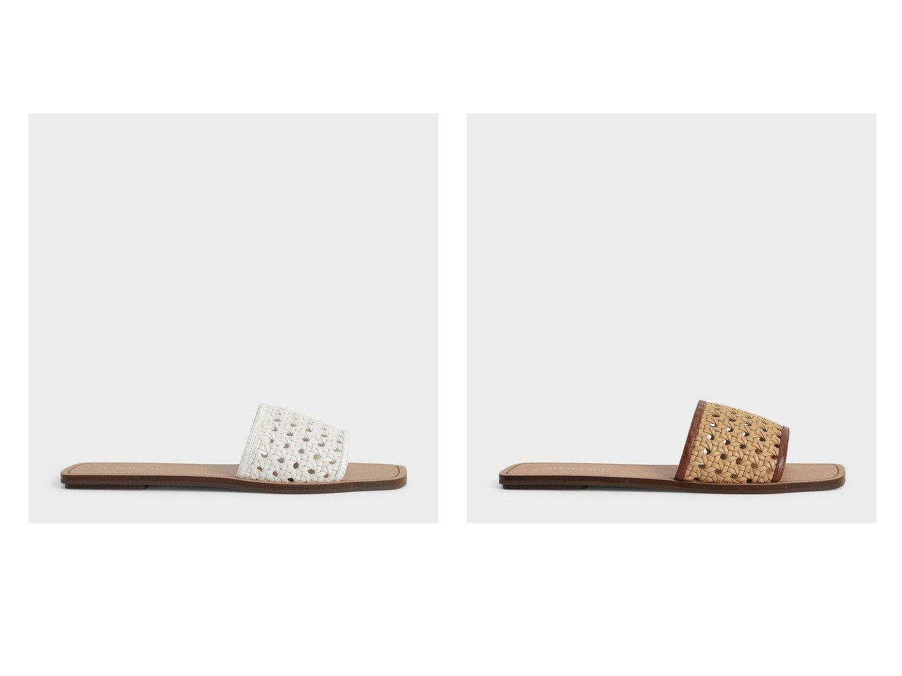 【CHARLES & KEITH/チャールズ アンド キース】の【2021 SUMMER 新作】ウーブンスライド サンダル Woven Slide Sandals 【シューズ・靴】おすすめ!人気、トレンド・レディースファッションの通販  おすすめで人気の流行・トレンド、ファッションの通販商品 インテリア・家具・メンズファッション・キッズファッション・レディースファッション・服の通販 founy(ファニー) https://founy.com/ ファッション Fashion レディースファッション WOMEN 2021年 2021 2021春夏・S/S SS/Spring/Summer/2021 S/S・春夏 SS・Spring/Summer おすすめ Recommend サンダル トレンド フラット メッシュ 夏 Summer 春 Spring |ID:crp329100000053902