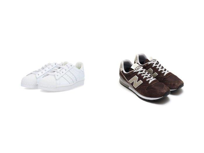 【new balance/ニューバランス】のNew Balance CM996SHB&【adidas Originals/アディダス オリジナルス】の【BEAMS】スーパースター Superstar アディダスオリジナルス 【シューズ・靴】おすすめ!人気、トレンド・レディースファッションの通販  おすすめ人気トレンドファッション通販アイテム インテリア・キッズ・メンズ・レディースファッション・服の通販 founy(ファニー) https://founy.com/ ファッション Fashion レディースファッション WOMEN クラシック シューズ スニーカー スリッポン インソール クッション クラシカル メッシュ 人気 |ID:crp329100000053903
