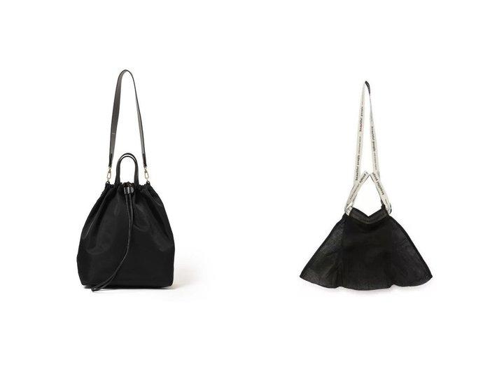 【Demi-Luxe BEAMS/デミルクス ビームス】のナイロン 2WAYバッグ&【beautiful people/ビューティフル ピープル】のshading sheet big tag bag 【バッグ・鞄】おすすめ!人気、トレンド・レディースファッションの通販 おすすめ人気トレンドファッション通販アイテム 人気、トレンドファッション・服の通販 founy(ファニー)  ファッション Fashion レディースファッション WOMEN バッグ Bag 2021年 2021 2021-2022秋冬・A/W AW・Autumn/Winter・FW・Fall-Winter・2021-2022 A/W・秋冬 AW・Autumn/Winter・FW・Fall-Winter スタイリッシュ ハンドバッグ ラップ 巾着 軽量 シューズ バランス パイソン |ID:crp329100000053913
