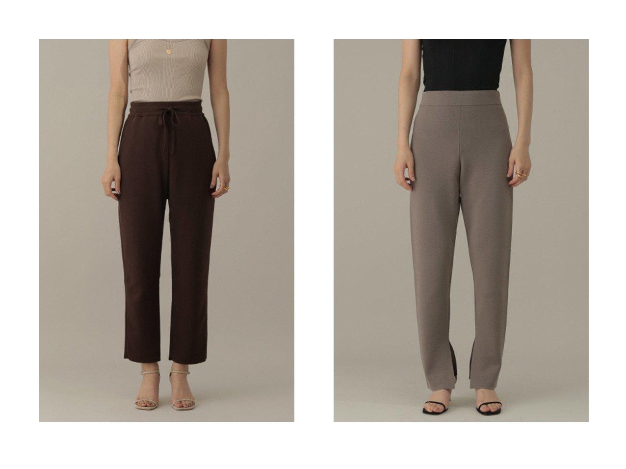 【Chaos/カオス】のアゴラニットパンツ&シルクコンミラノリブスリムパンツ 【パンツ】おすすめ!人気、トレンド・レディースファッションの通販 おすすめで人気の流行・トレンド、ファッションの通販商品 インテリア・家具・メンズファッション・キッズファッション・レディースファッション・服の通販 founy(ファニー) https://founy.com/ ファッション Fashion レディースファッション WOMEN パンツ Pants 2021年 2021 2021-2022秋冬・A/W AW・Autumn/Winter・FW・Fall-Winter・2021-2022 A/W・秋冬 AW・Autumn/Winter・FW・Fall-Winter おすすめ Recommend キャミソール シルク ストレッチ スリット スリム セットアップ バランス パターン ミラノリブ レギンス 人気 なめらか パーカー |ID:crp329100000054032
