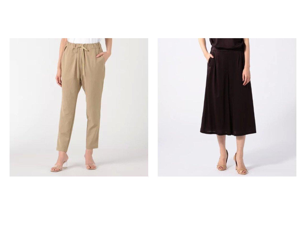 【SCAPA/スキャパ】のソフトドレープパンツ&【Munich/ミューニック】のtriacetate fiber ox tapered pants 【パンツ】おすすめ!人気、トレンド・レディースファッションの通販 おすすめで人気の流行・トレンド、ファッションの通販商品 インテリア・家具・メンズファッション・キッズファッション・レディースファッション・服の通販 founy(ファニー) https://founy.com/ ファッション Fashion レディースファッション WOMEN パンツ Pants 吸水 洗える おすすめ Recommend シンプル ドレープ ベーシック |ID:crp329100000054038
