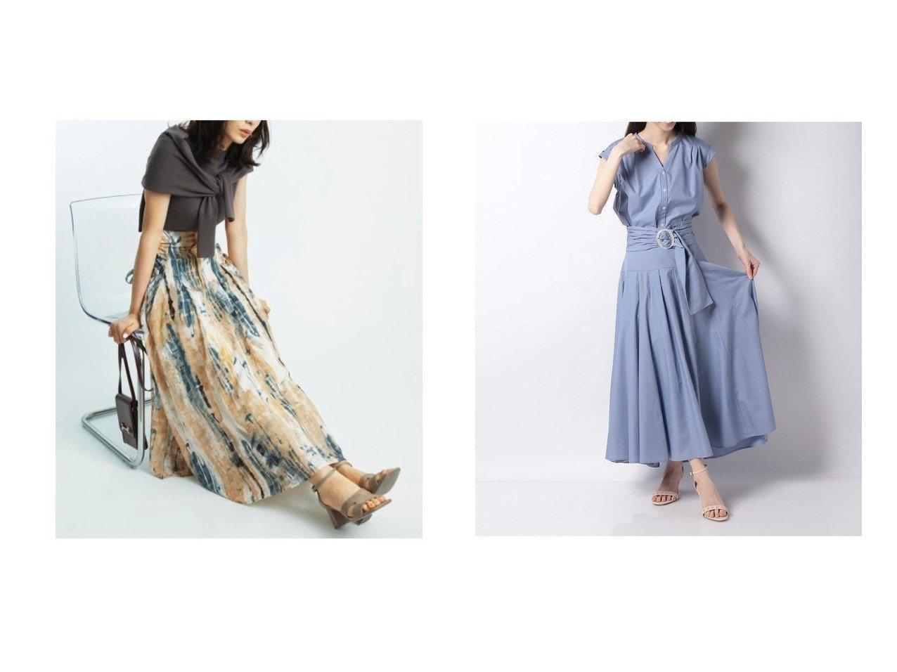 【SNIDEL/スナイデル】のリボンジャガードプリントスカート&【Apuweiser-riche/アプワイザーリッシェ】のチンツシャツセットアップ 【スカート】おすすめ!人気、トレンド・レディースファッションの通販 おすすめで人気の流行・トレンド、ファッションの通販商品 インテリア・家具・メンズファッション・キッズファッション・レディースファッション・服の通販 founy(ファニー) https://founy.com/ ファッション Fashion レディースファッション WOMEN スカート Skirt セットアップ Setup トップス Tops スカート Skirt Aライン/フレアスカート Flared A-Line Skirts エアリー サマー シアー シャーリング スマート ドット フレア プリント ランダム 再入荷 Restock/Back in Stock/Re Arrival NEW・新作・新着・新入荷 New Arrivals ギャザー スキッパー セットアップ ワイド |ID:crp329100000054048