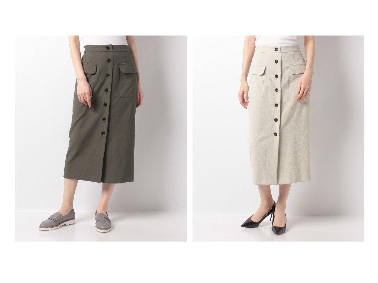 【MICA & DEAL/マイカ ディール】のfront button tihgt sk 【スカート】おすすめ!人気、トレンド・レディースファッションの通販 おすすめで人気の流行・トレンド、ファッションの通販商品 インテリア・家具・メンズファッション・キッズファッション・レディースファッション・服の通販 founy(ファニー) https://founy.com/ ファッション Fashion レディースファッション WOMEN スカート Skirt オックス タイトスカート タンブラー ダウン フロント ポケット 吸水 |ID:crp329100000054052