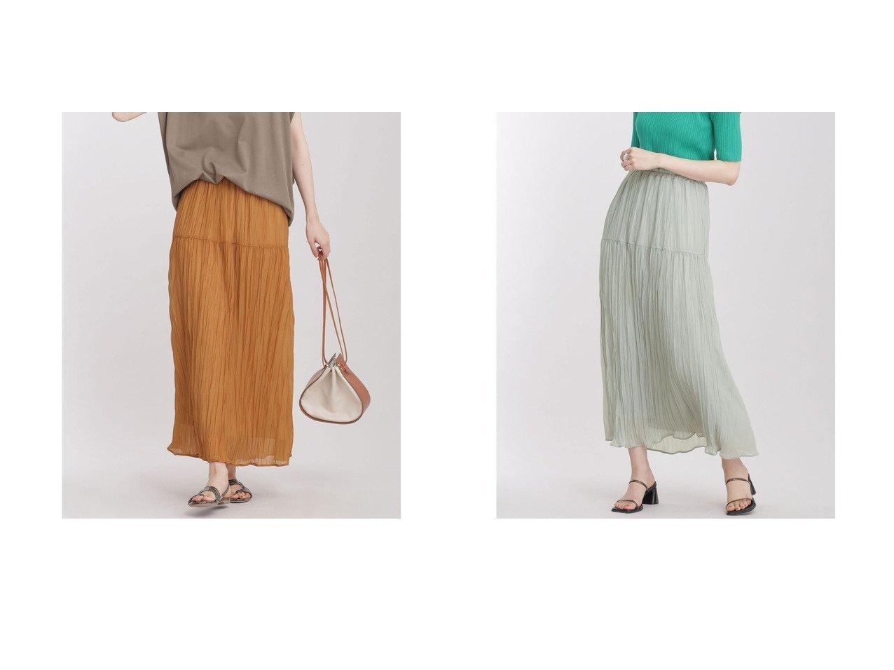 【nano universe/ナノ ユニバース】のワッシャーギャザースカート 【スカート】おすすめ!人気、トレンド・レディースファッションの通販 おすすめで人気の流行・トレンド、ファッションの通販商品 インテリア・家具・メンズファッション・キッズファッション・レディースファッション・服の通販 founy(ファニー) https://founy.com/ ファッション Fashion レディースファッション WOMEN スカート Skirt カットソー ギャザー シフォン トレンド ノースリーブ プリント プリーツ リラックス ロング A/W・秋冬 AW・Autumn/Winter・FW・Fall-Winter 2021年 2021 2021-2022秋冬・A/W AW・Autumn/Winter・FW・Fall-Winter・2021-2022 おすすめ Recommend |ID:crp329100000054057