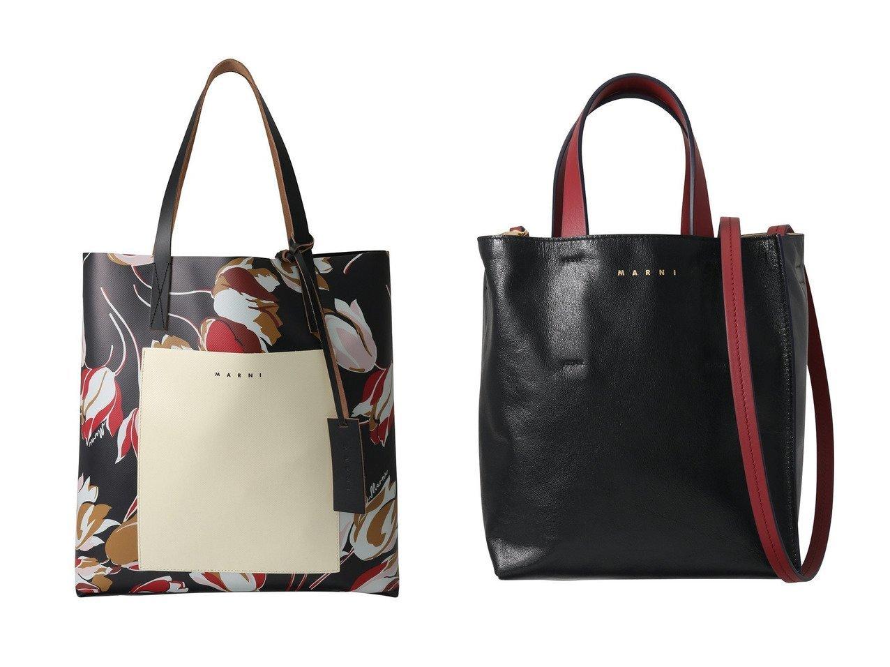 【MARNI/マルニ】のポケット付きプリントトートバッグ&MUSEO SOFT MINI 2wayトートバッグ 【バッグ・鞄】おすすめ!人気、トレンド・レディースファッションの通販 おすすめで人気の流行・トレンド、ファッションの通販商品 インテリア・家具・メンズファッション・キッズファッション・レディースファッション・服の通販 founy(ファニー) https://founy.com/ ファッション Fashion レディースファッション WOMEN バッグ Bag 2021年 2021 2021-2022秋冬・A/W AW・Autumn/Winter・FW・Fall-Winter・2021-2022 A/W・秋冬 AW・Autumn/Winter・FW・Fall-Winter フォルム ブロック フラワー プリント ポケット 無地  ID:crp329100000054073