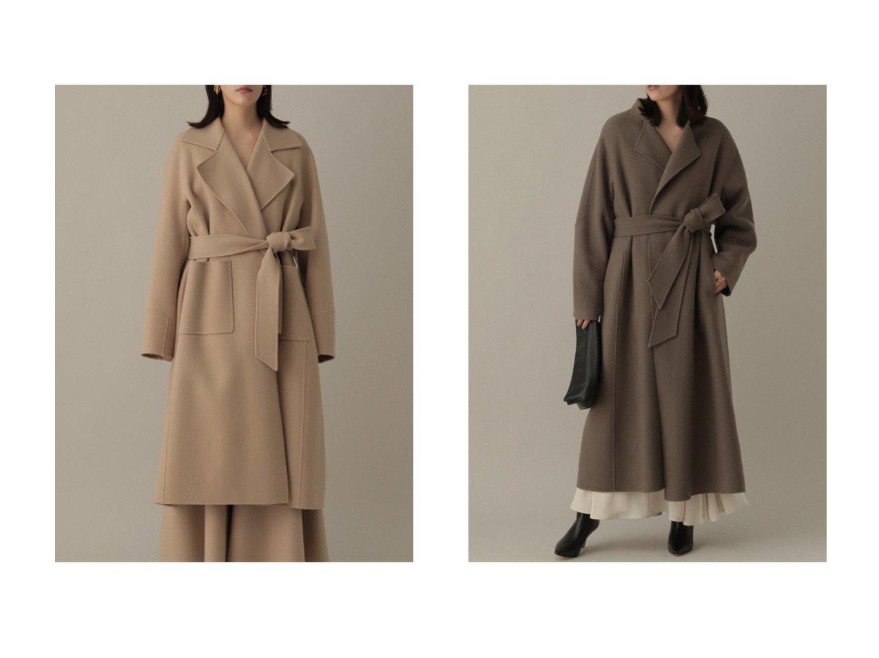 【Chaos/カオス】のスーペリアガロン ロングダブルコート&アールスーペリアノーカラーコート 【アウター】おすすめ!人気、トレンド・レディースファッションの通販 おすすめで人気の流行・トレンド、ファッションの通販商品 インテリア・家具・メンズファッション・キッズファッション・レディースファッション・服の通販 founy(ファニー) https://founy.com/ ファッション Fashion レディースファッション WOMEN アウター Coat Outerwear コート Coats 2021年 2021 2021-2022秋冬・A/W AW・Autumn/Winter・FW・Fall-Winter・2021-2022 A/W・秋冬 AW・Autumn/Winter・FW・Fall-Winter おすすめ Recommend セットアップ ダブル メルトン 人気 |ID:crp329100000054075