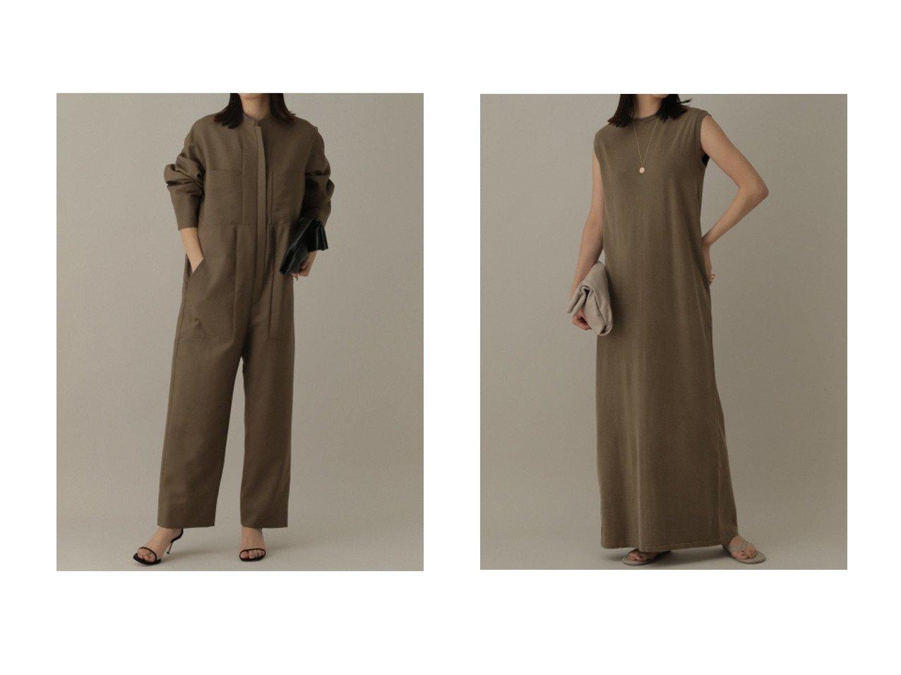 【Chaos/カオス】のロザリージャンプスーツ&【REMI RELIEF】別注カットマキシワンピース 【ワンピース・ドレス】おすすめ!人気、トレンド・レディースファッションの通販 おすすめで人気の流行・トレンド、ファッションの通販商品 インテリア・家具・メンズファッション・キッズファッション・レディースファッション・服の通販 founy(ファニー) https://founy.com/ ファッション Fashion レディースファッション WOMEN ワンピース Dress マキシワンピース Maxi Dress 2021年 2021 2021-2022秋冬・A/W AW・Autumn/Winter・FW・Fall-Winter・2021-2022 A/W・秋冬 AW・Autumn/Winter・FW・Fall-Winter スーツ モヘア カットソー シンプル スリット マキシ ヴィンテージ 別注 夏 Summer |ID:crp329100000054080