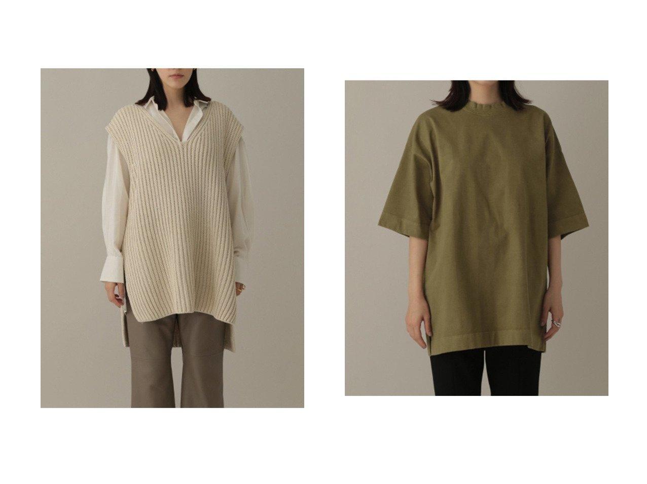 【Chaos/カオス】のプレーティングTシャツ&レイヤードソワニットベスト 【トップス・カットソー】おすすめ!人気、トレンド・レディースファッションの通販 おすすめで人気の流行・トレンド、ファッションの通販商品 インテリア・家具・メンズファッション・キッズファッション・レディースファッション・服の通販 founy(ファニー) https://founy.com/ ファッション Fashion レディースファッション WOMEN トップス・カットソー Tops/Tshirt シャツ/ブラウス Shirts/Blouses ロング / Tシャツ T-Shirts アウター Coat Outerwear ニット Knit Tops ベスト/ジレ Gilets/Vests 2021年 2021 2021-2022秋冬・A/W AW・Autumn/Winter・FW・Fall-Winter・2021-2022 A/W・秋冬 AW・Autumn/Winter・FW・Fall-Winter アクリル スウェット ヴィンテージ ベスト |ID:crp329100000054101