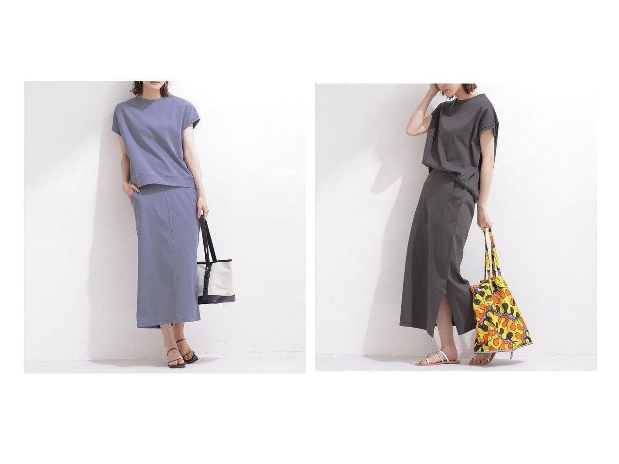 【nano universe/ナノ ユニバース】のポンチスカートセットアップ ノースリーブ 【トップス・カットソー】おすすめ!人気、トレンド・レディースファッションの通販 おすすめで人気の流行・トレンド、ファッションの通販商品 インテリア・家具・メンズファッション・キッズファッション・レディースファッション・服の通販 founy(ファニー) https://founy.com/ ファッション Fashion レディースファッション WOMEN セットアップ Setup トップス Tops スカート Skirt ウォッシャブル サンダル シンプル スリット スリーブ セットアップ ノースリーブ バランス フレンチ フロント ボトム リラックス 再入荷 Restock/Back in Stock/Re Arrival NEW・新作・新着・新入荷 New Arrivals おすすめ Recommend 夏 Summer |ID:crp329100000054103
