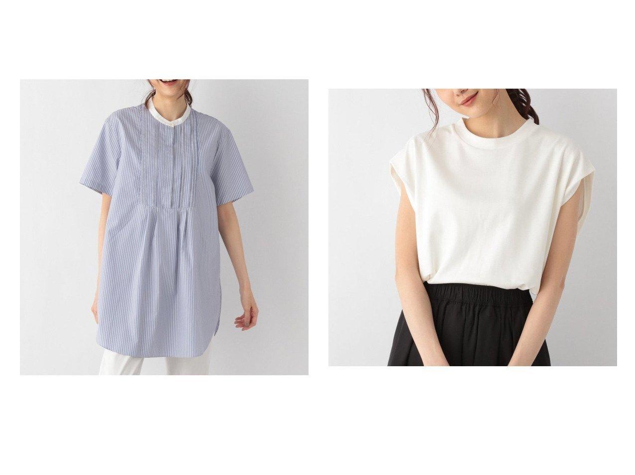 【GLOBAL WORK/グローバルワーク】のショルダータックPO+D&ボザムチュニックシャツSS 【プチプライス・低価格】おすすめ!人気、トレンド・レディースファッションの通販 おすすめで人気の流行・トレンド、ファッションの通販商品 インテリア・家具・メンズファッション・キッズファッション・レディースファッション・服の通販 founy(ファニー) https://founy.com/ ファッション Fashion レディースファッション WOMEN トップス・カットソー Tops/Tshirt カットソー Cut and Sewn ワンピース Dress チュニック Tunic NEW・新作・新着・新入荷 New Arrivals おすすめ Recommend カットソー クロップド ショルダー シンプル ストレート テーパード トレンド S/S・春夏 SS・Spring/Summer スキッパー ストライプ チュニック  ID:crp329100000054153