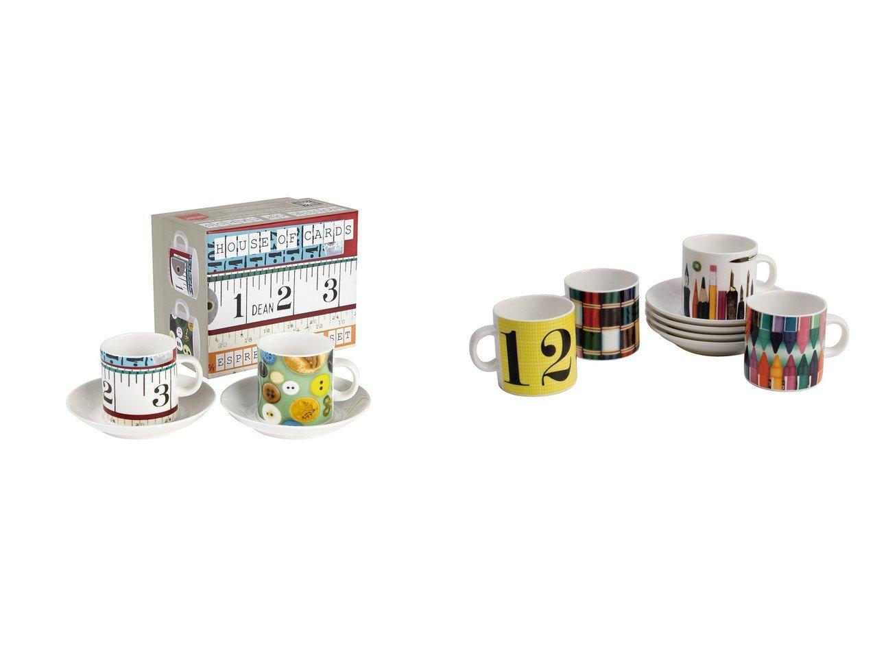 【FLYMEe accessoire/フライミーアクセソワ】のEAMES ESPRESSO GIFT SET 4 CUPS & イームズ エスプレッソ ギフトセット (カップ&ソーサー 4客セット)&EAMES DOUBLE ESPRESSO GIFT SET BUTTONS & イームズ ダブルエスプレッソ ギフトセット (ボタン&テープ メジャー) 【テーブルウェア・食器 お家時間】おすすめ!人気、インテリア雑貨・家具の通販 おすすめで人気の流行・トレンド、ファッションの通販商品 インテリア・家具・メンズファッション・キッズファッション・レディースファッション・服の通販 founy(ファニー) https://founy.com/ おすすめ Recommend グラフィック コレクション ダブル テーブル プリント ボックス |ID:crp329100000054244