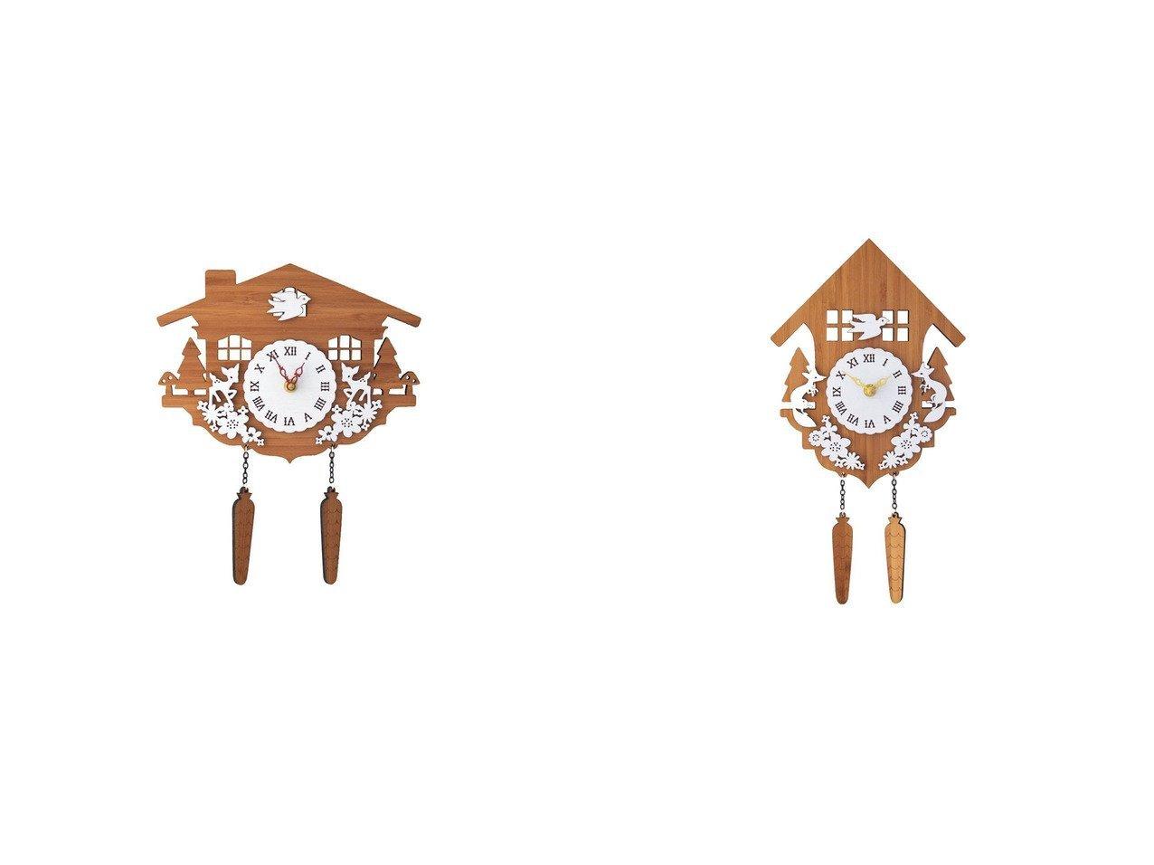 【FLYMEe accessoire/フライミーアクセソワ】の鳩時計 #105479&鳩時計 #105478 【時計 お家時間 FURNITURE】おすすめ!人気、インテリア雑貨・家具の通販 おすすめで人気の流行・トレンド、ファッションの通販商品 インテリア・家具・メンズファッション・キッズファッション・レディースファッション・服の通販 founy(ファニー) https://founy.com/ 送料無料 Free Shipping ハンド フォルム モチーフ 時計 |ID:crp329100000054291
