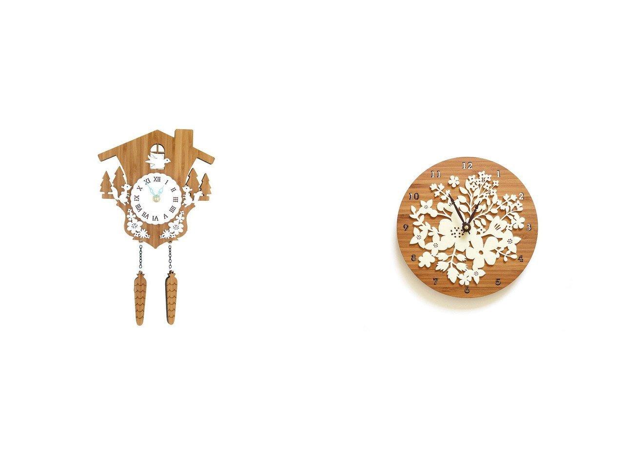 【FLYMEe accessoire/フライミーアクセソワ】のウォールクロック #105474&鳩時計 #105476 【時計 お家時間 FURNITURE】おすすめ!人気、インテリア雑貨・家具の通販 おすすめで人気の流行・トレンド、ファッションの通販商品 インテリア・家具・メンズファッション・キッズファッション・レディースファッション・服の通販 founy(ファニー) https://founy.com/ 送料無料 Free Shipping ハンド フォルム モチーフ 時計 |ID:crp329100000054292