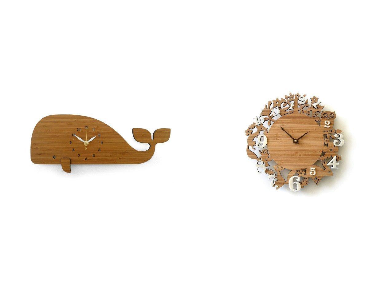 【FLYMEe ZOO/フライミーズー】のウォールクロック #105471&ウォールクロック #105465 【時計 お家時間 FURNITURE】おすすめ!人気、インテリア雑貨・家具の通販 おすすめで人気の流行・トレンド、ファッションの通販商品 インテリア・家具・メンズファッション・キッズファッション・レディースファッション・服の通販 founy(ファニー) https://founy.com/ 送料無料 Free Shipping シンプル モチーフ 時計 軽量 プレート |ID:crp329100000054299