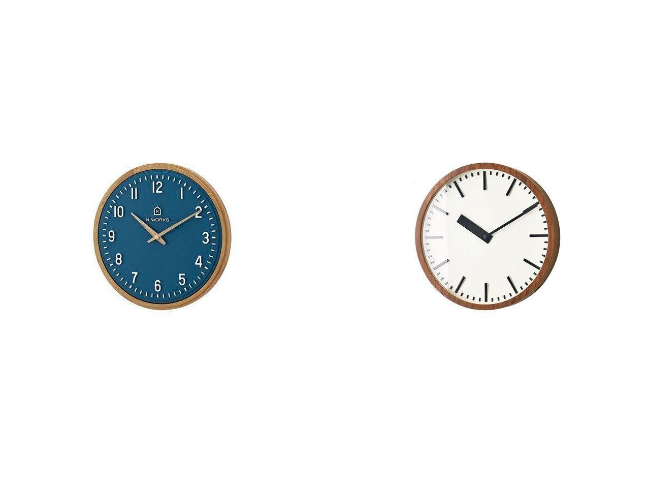 【FLYMEe Parlor/フライミーパーラー】のウォールクロック #107008&ウォールクロック #108056 【時計 お家時間 FURNITURE】おすすめ!人気、インテリア雑貨・家具の通販 おすすめで人気の流行・トレンド、ファッションの通販商品 インテリア・家具・メンズファッション・キッズファッション・レディースファッション・服の通販 founy(ファニー) https://founy.com/ ウッド ワーク 時計  ID:crp329100000054306