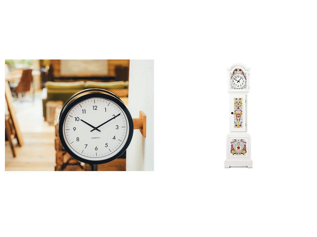 【FLYMEe Parlor/フライミーパーラー】のウォールクロック #105321&【moooi/モーイ】のアルトドイチェ クロック 【時計 お家時間 FURNITURE】おすすめ!人気、インテリア雑貨・家具の通販 おすすめで人気の流行・トレンド、ファッションの通販商品 インテリア・家具・メンズファッション・キッズファッション・レディースファッション・服の通販 founy(ファニー) https://founy.com/ ハンド パターン モチーフ 時計  ID:crp329100000054318