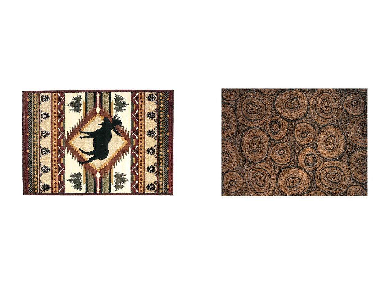 【FLYMEe Parlor/フライミーパーラー】のラグ e20038&ラグ #102370 【ラグ・絨毯・カーペット お家時間 FURNITURE】おすすめ!人気、インテリア雑貨・家具の通販 おすすめで人気の流行・トレンド、ファッションの通販商品 インテリア・家具・メンズファッション・キッズファッション・レディースファッション・服の通販 founy(ファニー) https://founy.com/ 送料無料 Free Shipping アウトドア コレクション ネイティブ モチーフ |ID:crp329100000054333