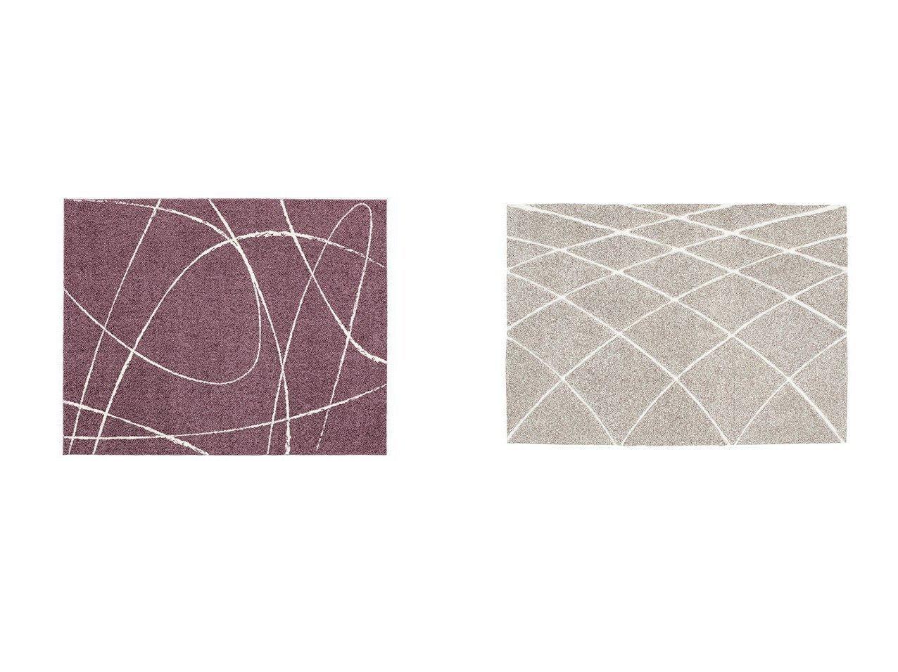 【FLYMEe vert/フライミー ヴェール】のラグ #102273&ラグ #102286 【ラグ・絨毯・カーペット お家時間 FURNITURE】おすすめ!人気、インテリア雑貨・家具の通販 おすすめで人気の流行・トレンド、ファッションの通販商品 インテリア・家具・メンズファッション・キッズファッション・レディースファッション・服の通販 founy(ファニー) https://founy.com/ 冬 Winter 夏 Summer 送料無料 Free Shipping |ID:crp329100000054339