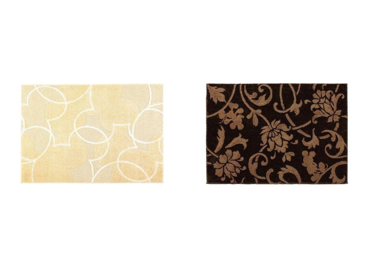 【FLYMEe PLUS/フライミー プリュス】のミッキー パールラインラグ&ミッキー エレガンスノートラグ 【ラグ・絨毯・カーペット お家時間 FURNITURE】おすすめ!人気、インテリア雑貨・家具の通販 おすすめで人気の流行・トレンド、ファッションの通販商品 インテリア・家具・メンズファッション・キッズファッション・レディースファッション・服の通販 founy(ファニー) https://founy.com/ ベーシック ボタニカル |ID:crp329100000054349