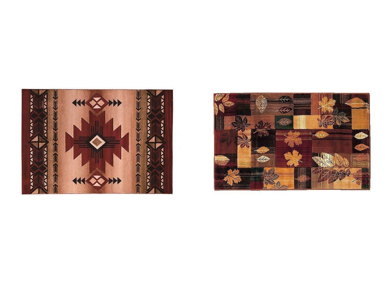 【FLYMEe Parlor/フライミーパーラー】のラグ e20001&ラグ e20026 【ラグ・絨毯・カーペット お家時間 FURNITURE】おすすめ!人気、インテリア雑貨・家具の通販 おすすめで人気の流行・トレンド、ファッションの通販商品 インテリア・家具・メンズファッション・キッズファッション・レディースファッション・服の通販 founy(ファニー) https://founy.com/ 送料無料 Free Shipping ネイティブ |ID:crp329100000054355