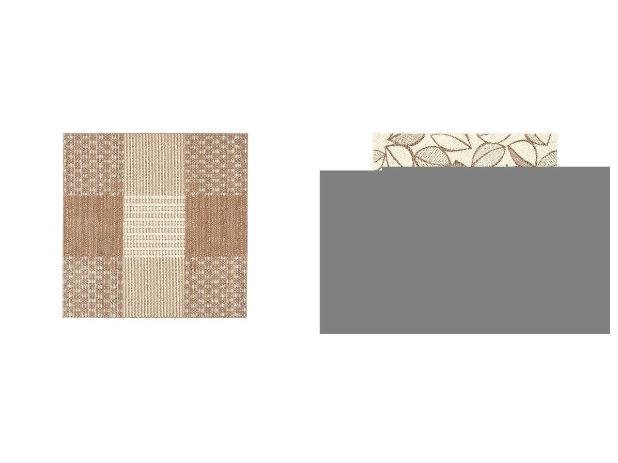 【FLYMEe vert/フライミー ヴェール】のラグ n7310&ラグ n7313 【ラグ・絨毯・カーペット お家時間 FURNITURE】おすすめ!人気、インテリア雑貨・家具の通販 おすすめで人気の流行・トレンド、ファッションの通販商品 インテリア・家具・メンズファッション・キッズファッション・レディースファッション・服の通販 founy(ファニー) https://founy.com/ 送料無料 Free Shipping シンプル ループ テクスチャー モチーフ リーフ |ID:crp329100000054358