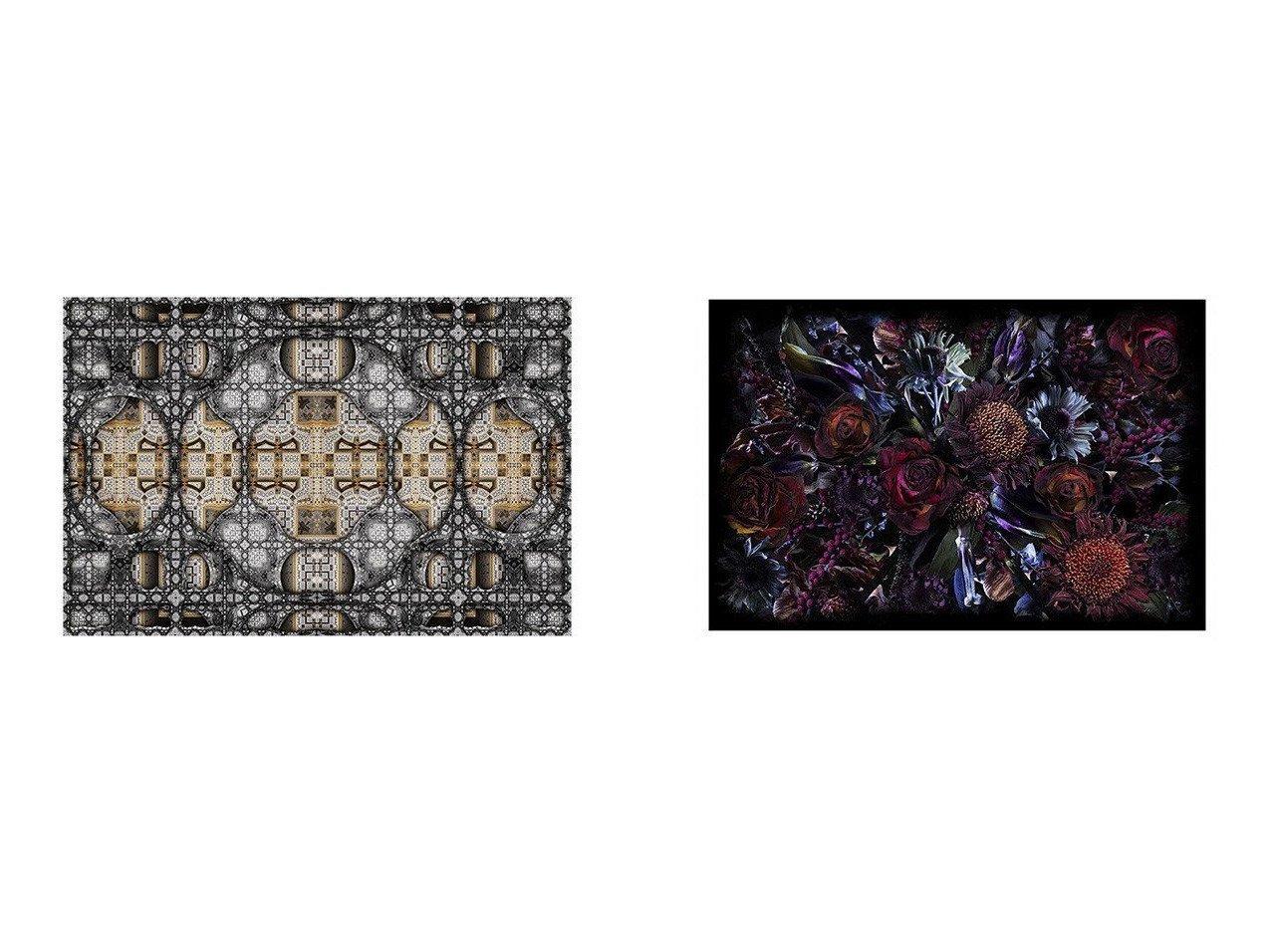 【moooi/モーイ】のフールズ パラダイス(レクタングル)&S.F.M. # S.F.M. #076 【絨毯・カーペット お家時間 FURNITURE】おすすめ!人気、インテリア雑貨・家具の通販 おすすめで人気の流行・トレンド、ファッションの通販商品 インテリア・家具・メンズファッション・キッズファッション・レディースファッション・服の通販 founy(ファニー) https://founy.com/ コレクション チェック パターン 送料無料 Free Shipping  ID:crp329100000054430