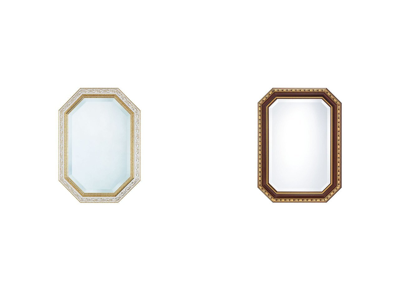 【FLYMEe Blanc/フライミー ブラン】のウォールミラー m77351&ウォールミラー m77344 【ミラー・鏡 お家時間 FURNITURE】おすすめ!人気、インテリア雑貨・家具の通販 おすすめで人気の流行・トレンド、ファッションの通販商品 インテリア・家具・メンズファッション・キッズファッション・レディースファッション・服の通販 founy(ファニー) https://founy.com/ 送料無料 Free Shipping アンティーク フェミニン フレーム ホーム・キャンプ・アウトドア Home,Garden,Outdoor,Camping Gear 家具・インテリア Furniture ミラー・ドレッサー Mirror ミラー・鏡 ホーム・キャンプ・アウトドア Home,Garden,Outdoor,Camping Gear 家具・インテリア Furniture ミラー・ドレッサー Mirror ドレッサー  ID:crp329100000054458