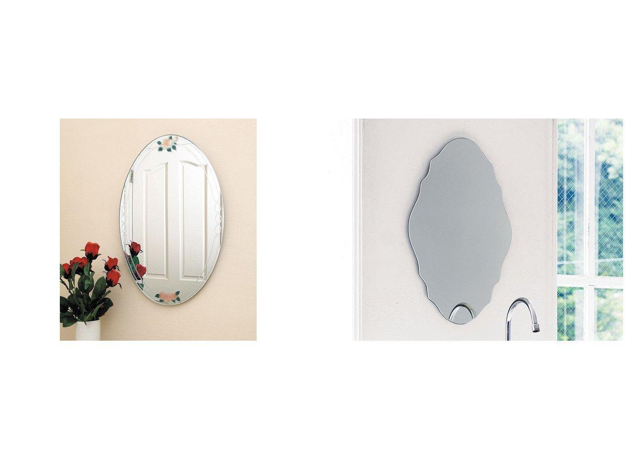 【FLYMEe Blanc/フライミー ブラン】のウォールミラー m77337&ウォールミラー m77284 【ミラー・鏡 お家時間 FURNITURE】おすすめ!人気、インテリア雑貨・家具の通販 おすすめで人気の流行・トレンド、ファッションの通販商品 インテリア・家具・メンズファッション・キッズファッション・レディースファッション・服の通販 founy(ファニー) https://founy.com/ 送料無料 Free Shipping エレガント オーバル フォルム フレーム ホーム・キャンプ・アウトドア Home,Garden,Outdoor,Camping Gear 家具・インテリア Furniture ミラー・ドレッサー Mirror ミラー・鏡 ホーム・キャンプ・アウトドア Home,Garden,Outdoor,Camping Gear 家具・インテリア Furniture ミラー・ドレッサー Mirror ドレッサー  ID:crp329100000054461