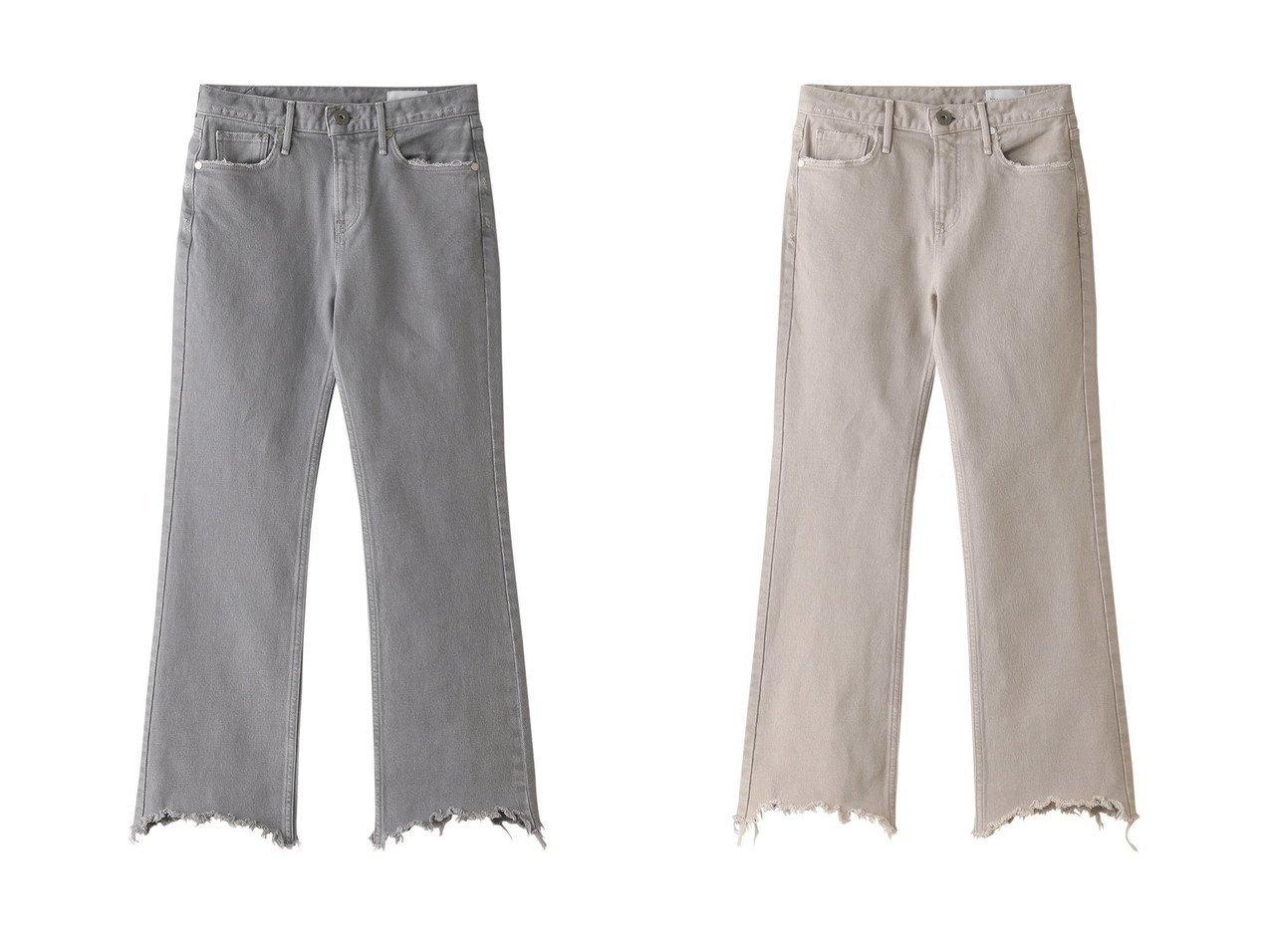 【upper hights/アッパー ハイツ】のTHE BIRKIN ミッドライズブーツカットデニムパンツ&THE BIRKIN ミッドライズブーツカットデニムパンツ 【パンツ】おすすめ!人気、トレンド・レディースファッションの通販 おすすめで人気の流行・トレンド、ファッションの通販商品 インテリア・家具・メンズファッション・キッズファッション・レディースファッション・服の通販 founy(ファニー) https://founy.com/ ファッション Fashion レディースファッション WOMEN パンツ Pants デニムパンツ Denim Pants 2021年 2021 2021-2022秋冬・A/W AW・Autumn/Winter・FW・Fall-Winter・2021-2022 A/W・秋冬 AW・Autumn/Winter・FW・Fall-Winter カットソー スウェット デニム フレア |ID:crp329100000054466
