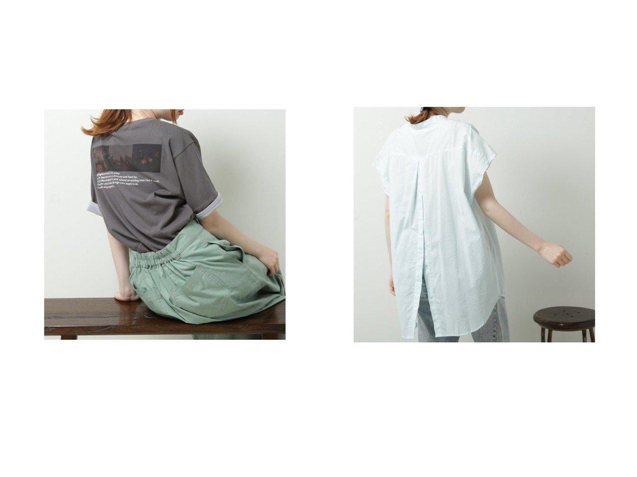 【DOUBLE NAME/ダブルネーム】のBACKボタンシアーフレンチスリーブSH&BACKフォトTEE おすすめ!人気トレンド・レディースファッション通販 おすすめで人気の流行・トレンド、ファッションの通販商品 インテリア・家具・メンズファッション・キッズファッション・レディースファッション・服の通販 founy(ファニー) https://founy.com/ ファッション Fashion レディースファッション WOMEN 2021年 2021 2021春夏・S/S SS/Spring/Summer/2021 S/S・春夏 SS・Spring/Summer スリーブ トレンド フレンチ ポケット 夏 Summer 春 Spring |ID:crp329100000054543