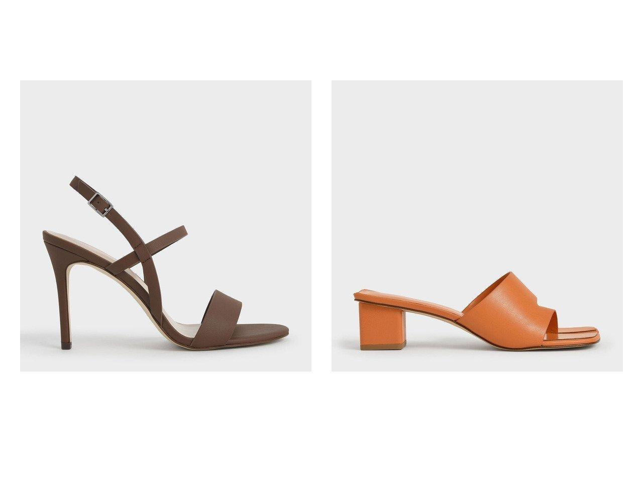 【CHARLES & KEITH/チャールズ アンド キース】の【2021 SUMMER 新作】カットアウト トングサンダル Cut-Out Thong Sandals&【2021 SUMMER 新作】スリングバック ヒールサンダル Slingback Heeled Sandals おすすめ!人気トレンド・レディースファッション通販 おすすめで人気の流行・トレンド、ファッションの通販商品 インテリア・家具・メンズファッション・キッズファッション・レディースファッション・服の通販 founy(ファニー) https://founy.com/ ファッション Fashion レディースファッション WOMEN バッグ Bag 2021年 2021 2021春夏・S/S SS/Spring/Summer/2021 S/S・春夏 SS・Spring/Summer サンダル 夏 Summer 春 Spring  ID:crp329100000054555