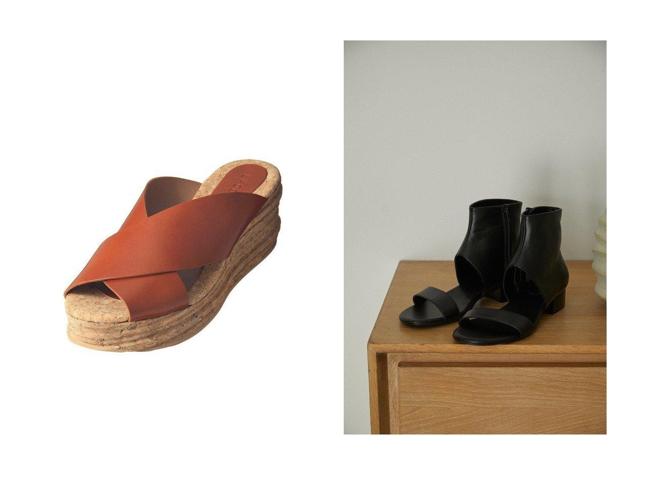【heliopole/エリオポール】の【LAOCOONTE】ウエッジサンダル&【RIM.ARK/リムアーク】のサンダル 【シューズ・靴】おすすめ!人気、トレンド・レディースファッションの通販 おすすめで人気の流行・トレンド、ファッションの通販商品 インテリア・家具・メンズファッション・キッズファッション・レディースファッション・服の通販 founy(ファニー) https://founy.com/ ファッション Fashion レディースファッション WOMEN サマー サンダル 夏 Summer 定番 Standard コンビ スタイリッシュ バランス ブーティ  ID:crp329100000054580