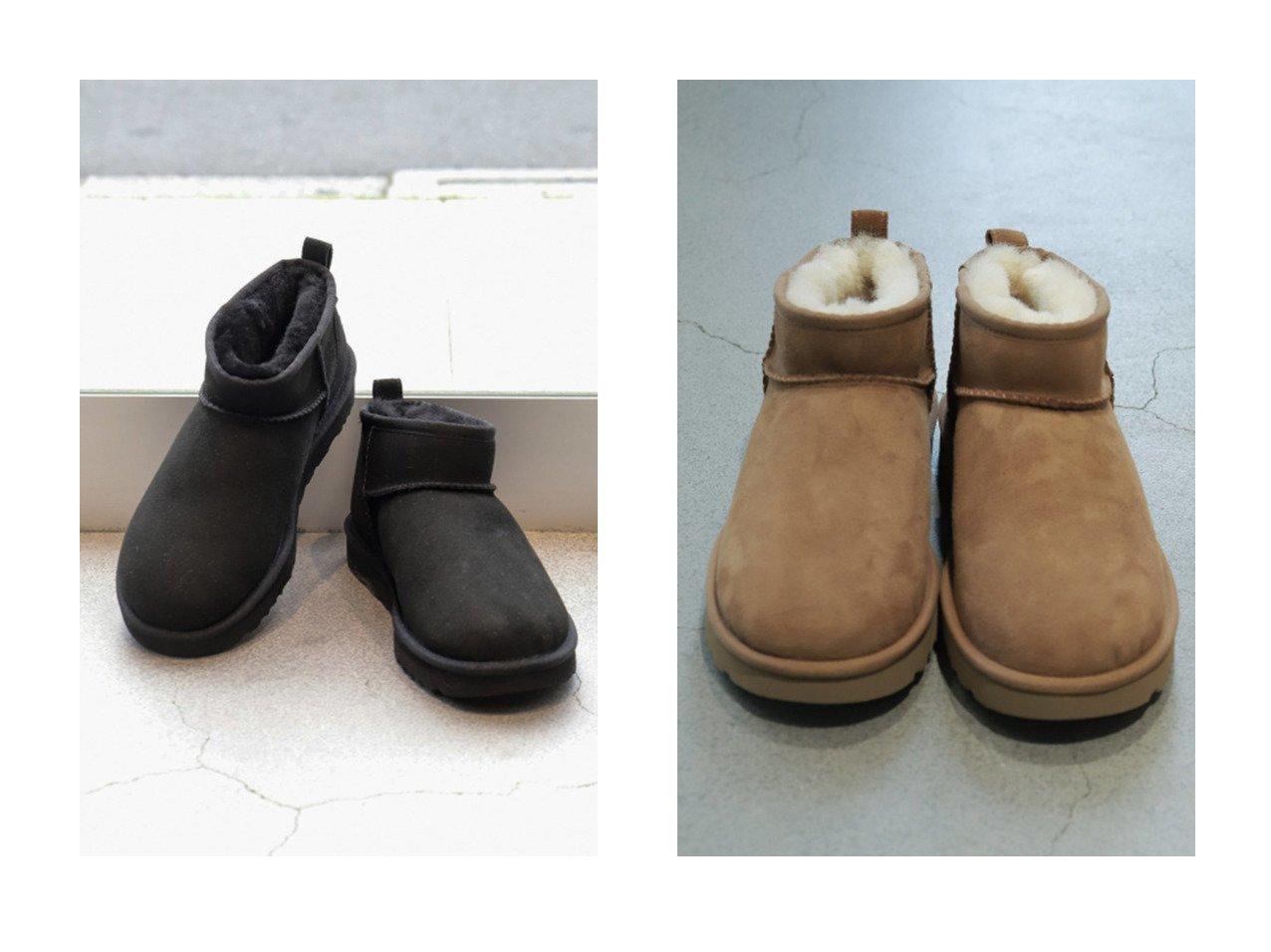 【Chaos/カオス】の【UGG】Classic Mini ムートンブーツ 【シューズ・靴】おすすめ!人気、トレンド・レディースファッションの通販 おすすめで人気の流行・トレンド、ファッションの通販商品 インテリア・家具・メンズファッション・キッズファッション・レディースファッション・服の通販 founy(ファニー) https://founy.com/ ファッション Fashion レディースファッション WOMEN アシンメトリー インソール クッション クラシック スエード ライニング ラグジュアリー A/W・秋冬 AW・Autumn/Winter・FW・Fall-Winter 2021年 2021 2021-2022秋冬・A/W AW・Autumn/Winter・FW・Fall-Winter・2021-2022  ID:crp329100000054581
