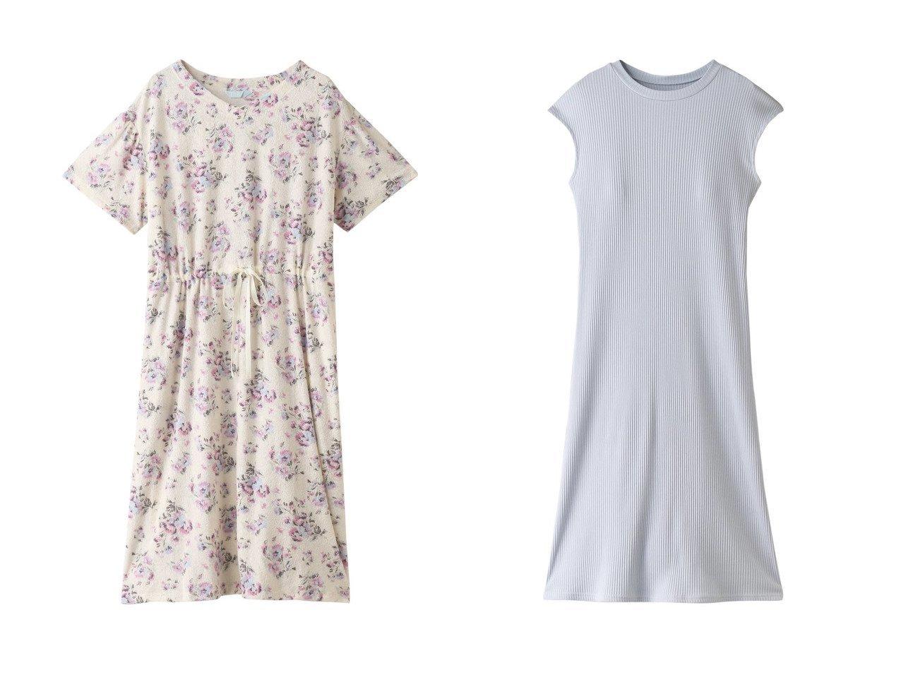 【KID BLUE/キッドブルー】のパイルローズバローワンピース&21プレーンリブワンピース 【ワンピース・ドレス】おすすめ!人気、トレンド・レディースファッションの通販 おすすめで人気の流行・トレンド、ファッションの通販商品 インテリア・家具・メンズファッション・キッズファッション・レディースファッション・服の通販 founy(ファニー) https://founy.com/ ファッション Fashion レディースファッション WOMEN ワンピース Dress 2021年 2021 2021-2022秋冬・A/W AW・Autumn/Winter・FW・Fall-Winter・2021-2022 A/W・秋冬 AW・Autumn/Winter・FW・Fall-Winter フロント プリント リラックス ローズ 半袖 夏 Summer ストレッチ ノースリーブ  ID:crp329100000054602