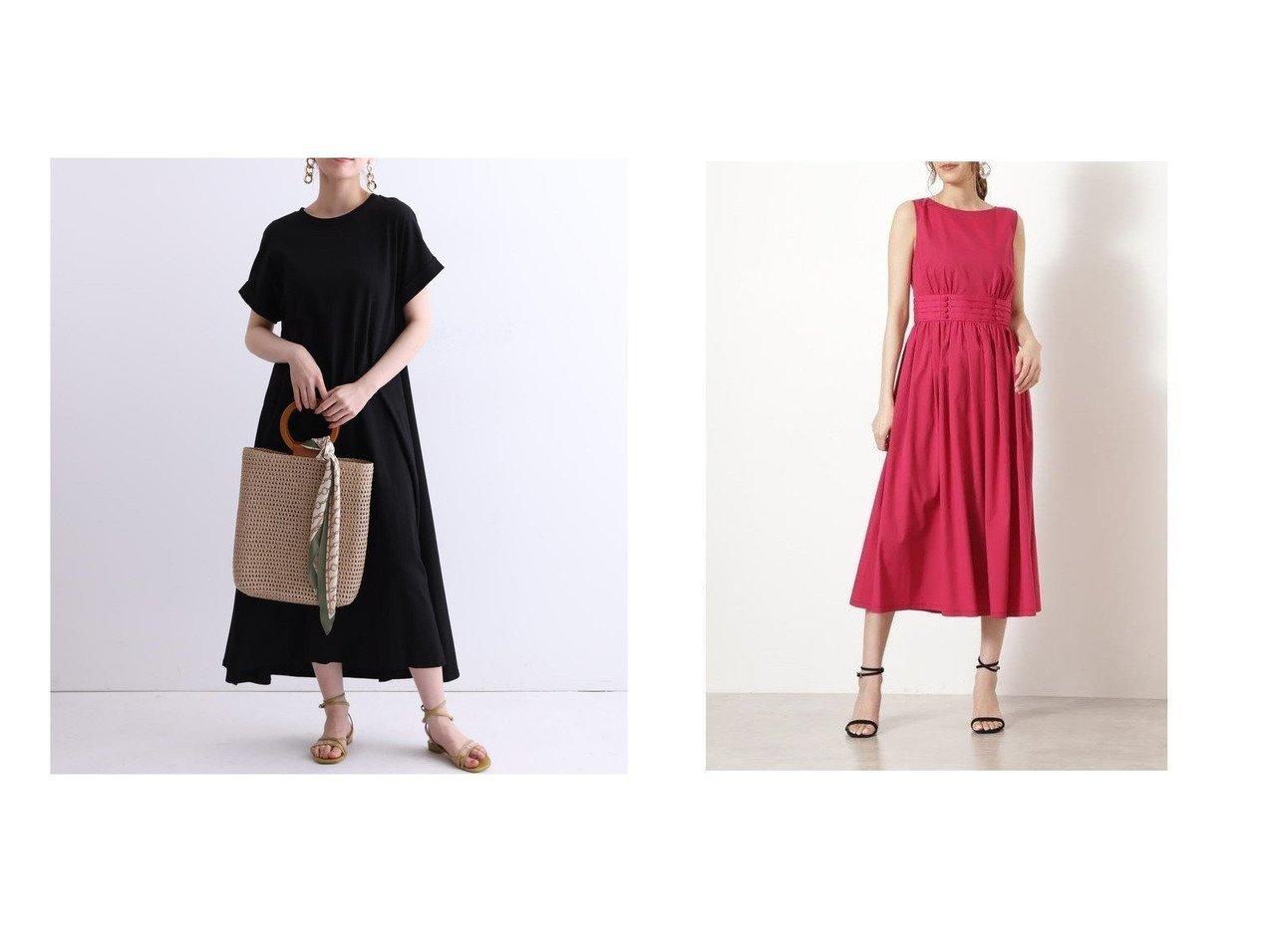 【Mystrada/マイストラーダ】のバックシャンカットワンピース&【JILL STUART/ジルスチュアート】のナターシャワンピース 【ワンピース・ドレス】おすすめ!人気、トレンド・レディースファッションの通販 おすすめで人気の流行・トレンド、ファッションの通販商品 インテリア・家具・メンズファッション・キッズファッション・レディースファッション・服の通販 founy(ファニー) https://founy.com/ ファッション Fashion レディースファッション WOMEN ワンピース Dress カットソー フレア リボン フェミニン フリル リラックス  ID:crp329100000054609