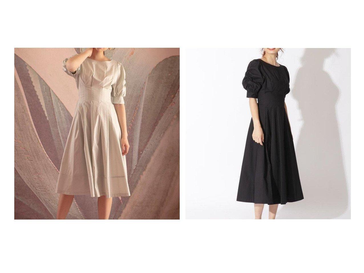 【And Couture/アンドクチュール】のタイプライター袖シャーリングワンピース 【ワンピース・ドレス】おすすめ!人気、トレンド・レディースファッションの通販 おすすめで人気の流行・トレンド、ファッションの通販商品 インテリア・家具・メンズファッション・キッズファッション・レディースファッション・服の通販 founy(ファニー) https://founy.com/ ファッション Fashion レディースファッション WOMEN ワンピース Dress NEW・新作・新着・新入荷 New Arrivals ギャザー シャーリング スリーブ タイプライター トレンド  ID:crp329100000054613