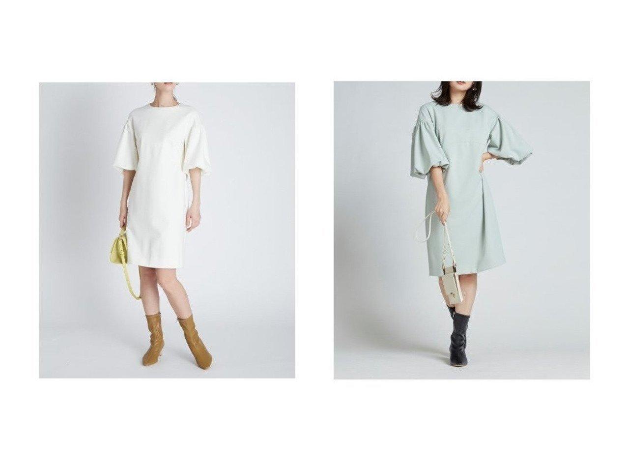 【CELFORD/セルフォード】のポンチコクーンワンピース 【ワンピース・ドレス】おすすめ!人気、トレンド・レディースファッションの通販 おすすめで人気の流行・トレンド、ファッションの通販商品 インテリア・家具・メンズファッション・キッズファッション・レディースファッション・服の通販 founy(ファニー) https://founy.com/ ファッション Fashion レディースファッション WOMEN ワンピース Dress 切替 シューズ シンプル ストレッチ スマート バランス バルーン フラット おすすめ Recommend  ID:crp329100000054615