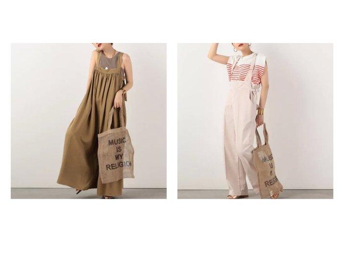 【NOLLEY'S/ノーリーズ】の【ヘルシー】Millet オールインワン&【 サージ 】サロペット 【ワンピース・ドレス】おすすめ!人気、トレンド・レディースファッションの通販 おすすめ人気トレンドファッション通販アイテム 人気、トレンドファッション・服の通販 founy(ファニー) ファッション Fashion レディースファッション WOMEN ワンピース Dress オールインワン ワンピース All In One Dress サロペット Salopette シンプル デニム トレンド ワイド オイル ヴィンテージ コレクション 抗菌 サスペンダー サロペット シューズ ジーンズ ファブリック メンズ モダン おすすめ Recommend |ID:crp329100000054616