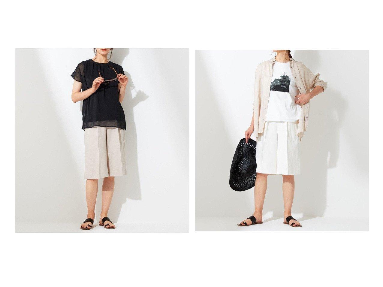 【JIYU-KU/自由区】の【Sサイズ有】大人の ショートパンツ 【パンツ】おすすめ!人気、トレンド・レディースファッションの通販 おすすめで人気の流行・トレンド、ファッションの通販商品 インテリア・家具・メンズファッション・キッズファッション・レディースファッション・服の通販 founy(ファニー) https://founy.com/ ファッション Fashion レディースファッション WOMEN パンツ Pants ハーフ / ショートパンツ Short Pants 洗える キュロット サマー ショート シルク センター 送料無料 Free Shipping 夏 Summer |ID:crp329100000054737