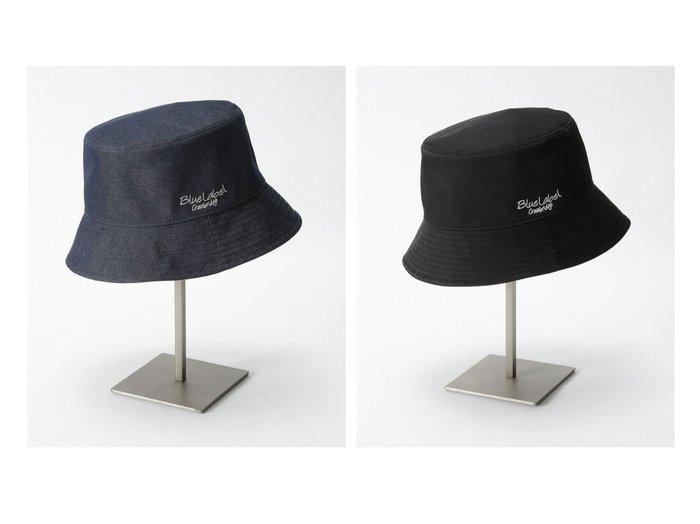 【BLUE LABEL CRESTBRIDGE/ブルーレーベル クレストブリッジ】のリバーシブルバケットハット おすすめ!人気、トレンド・レディースファッションの通販 おすすめ人気トレンドファッション通販アイテム 人気、トレンドファッション・服の通販 founy(ファニー) ファッション Fashion レディースファッション WOMEN 帽子 Hats キャスケット リバーシブル ワンポイント 再入荷 Restock/Back in Stock/Re Arrival 帽子 無地  ID:crp329100000054742