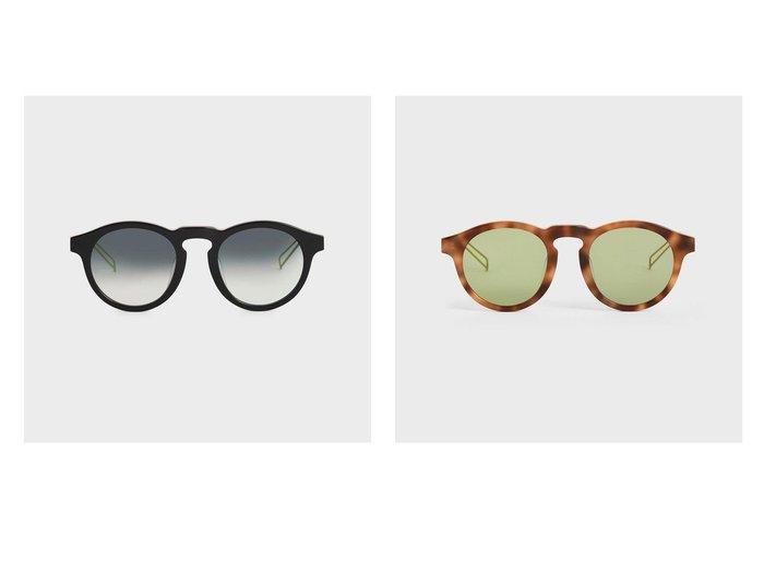 【CHARLES & KEITH/チャールズ アンド キース】のラウンドアセテート サングラス Round Acetate Sunglasses おすすめ!人気、トレンド・レディースファッションの通販 おすすめ人気トレンドファッション通販アイテム インテリア・キッズ・メンズ・レディースファッション・服の通販 founy(ファニー) https://founy.com/ ファッション Fashion レディースファッション WOMEN サングラス/メガネ Glasses 2020年 2020 2020春夏・S/S SS・Spring/Summer/2020 S/S・春夏 SS・Spring/Summer サングラス フィット フェイス モダン ラウンド 夏 Summer 春 Spring |ID:crp329100000054776