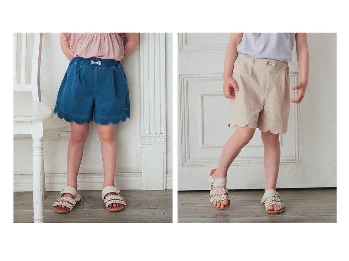 【any FAM / KIDS/エニファム】のしろくまショートパンツ 【KIDS】子供服のおすすめ!人気トレンド・キッズファッションの通販 おすすめ人気トレンドファッション通販アイテム インテリア・キッズ・メンズ・レディースファッション・服の通販 founy(ファニー) https://founy.com/ ファッション Fashion キッズファッション KIDS ボトムス Bottoms/Kids ガーリー ショート ポケット 送料無料 Free Shipping おすすめ Recommend 夏 Summer |ID:crp329100000054847