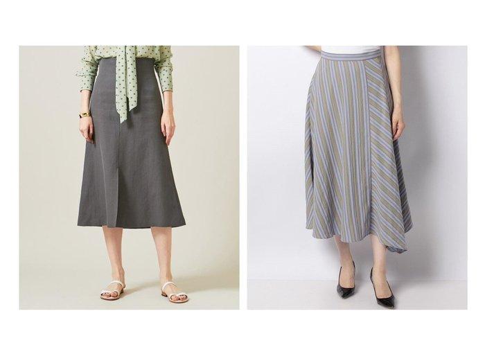 【BEIGE,/ベイジ,】のハイウエストスカート&【ANAYI/アナイ】のドビーストライプスカート 【スカート】おすすめ!人気、トレンド・レディースファッションの通販 おすすめ人気トレンドファッション通販アイテム 人気、トレンドファッション・服の通販 founy(ファニー)  ファッション Fashion レディースファッション WOMEN スカート Skirt Aライン/フレアスカート Flared A-Line Skirts 2021年 2021 2021春夏・S/S SS/Spring/Summer/2021 S/S・春夏 SS・Spring/Summer 夏 Summer |ID:crp329100000054865