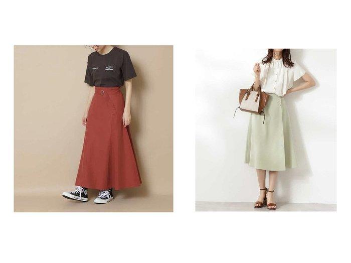 【N.Natural Beauty basic/エヌ ナチュラルビューティーベーシック】のサイドボタンフレアスカート《S Size Line》&麻混セットアップ スカート《S Size Line》 【スカート】おすすめ!人気、トレンド・レディースファッションの通販 おすすめ人気トレンドファッション通販アイテム インテリア・キッズ・メンズ・レディースファッション・服の通販 founy(ファニー) https://founy.com/ ファッション Fashion レディースファッション WOMEN セットアップ Setup スカート Skirt スカート Skirt Aライン/フレアスカート Flared A-Line Skirts シンプル ジャケット セットアップ フェミニン ロング 夏 Summer トレンド フレア ラップ 今季 |ID:crp329100000054872