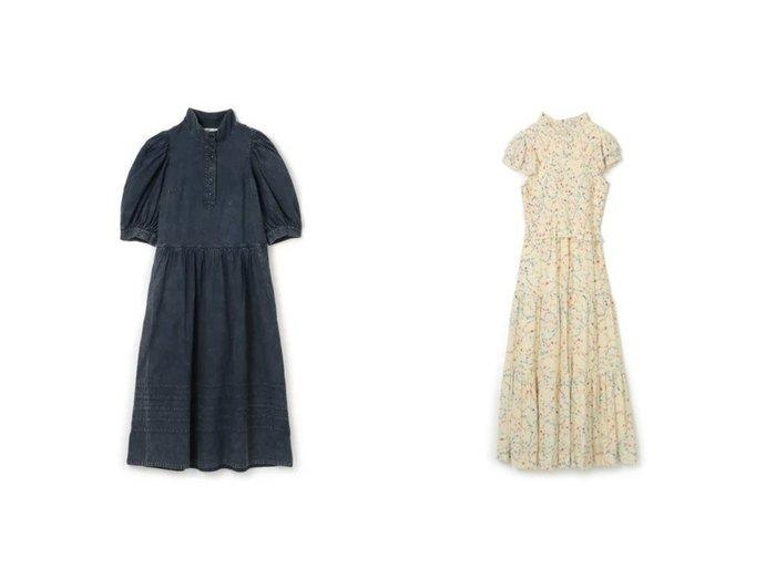 【Sea NEW YORK/シー ニューヨーク】の4 SLV DRESS (D1)&SLV SMOCKED DRESS (D2) 【ワンピース・ドレス】おすすめ!人気、トレンド・レディースファッションの通販 おすすめ人気トレンドファッション通販アイテム インテリア・キッズ・メンズ・レディースファッション・服の通販 founy(ファニー) https://founy.com/ ファッション Fashion レディースファッション WOMEN ワンピース Dress ドレス Party Dresses シャツワンピース Shirt Dresses 2021年 2021 2021-2022秋冬・A/W AW・Autumn/Winter・FW・Fall-Winter・2021-2022 A/W・秋冬 AW・Autumn/Winter・FW・Fall-Winter スタイリッシュ スタンド スリーブ ドレス フォーマル ヴィンテージ 半袖 |ID:crp329100000054890