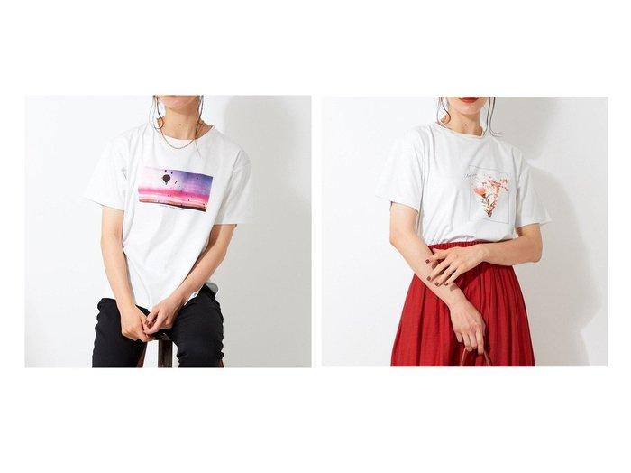 【JIYU-KU/自由区】の【Sサイズ有】プリント フォト Tシャツ 【トップス・カットソー】おすすめ!人気、トレンド・レディースファッションの通販 おすすめ人気トレンドファッション通販アイテム 人気、トレンドファッション・服の通販 founy(ファニー)  ファッション Fashion レディースファッション WOMEN トップス・カットソー Tops/Tshirt シャツ/ブラウス Shirts/Blouses ロング / Tシャツ T-Shirts カットソー Cut and Sewn 送料無料 Free Shipping おすすめ Recommend インナー カットソー シンプル ジャケット バランス プリント 無地 |ID:crp329100000054910