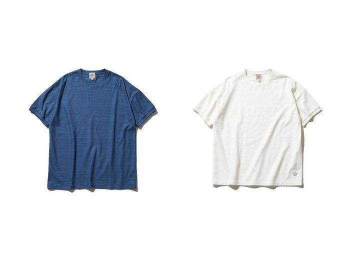 【J.PRESS / MEN/ジェイ プレス】のクルーネック ボーダーTシャツ 【MEN】おすすめ!人気トレンド・男性、メンズファッションの通販 おすすめ人気トレンドファッション通販アイテム インテリア・キッズ・メンズ・レディースファッション・服の通販 founy(ファニー) https://founy.com/ ファッション Fashion メンズファッション MEN トップス・カットソー Tops/Tshirt/Men シャツ Shirts 送料無料 Free Shipping カットソー デニム ボーダー |ID:crp329100000054951