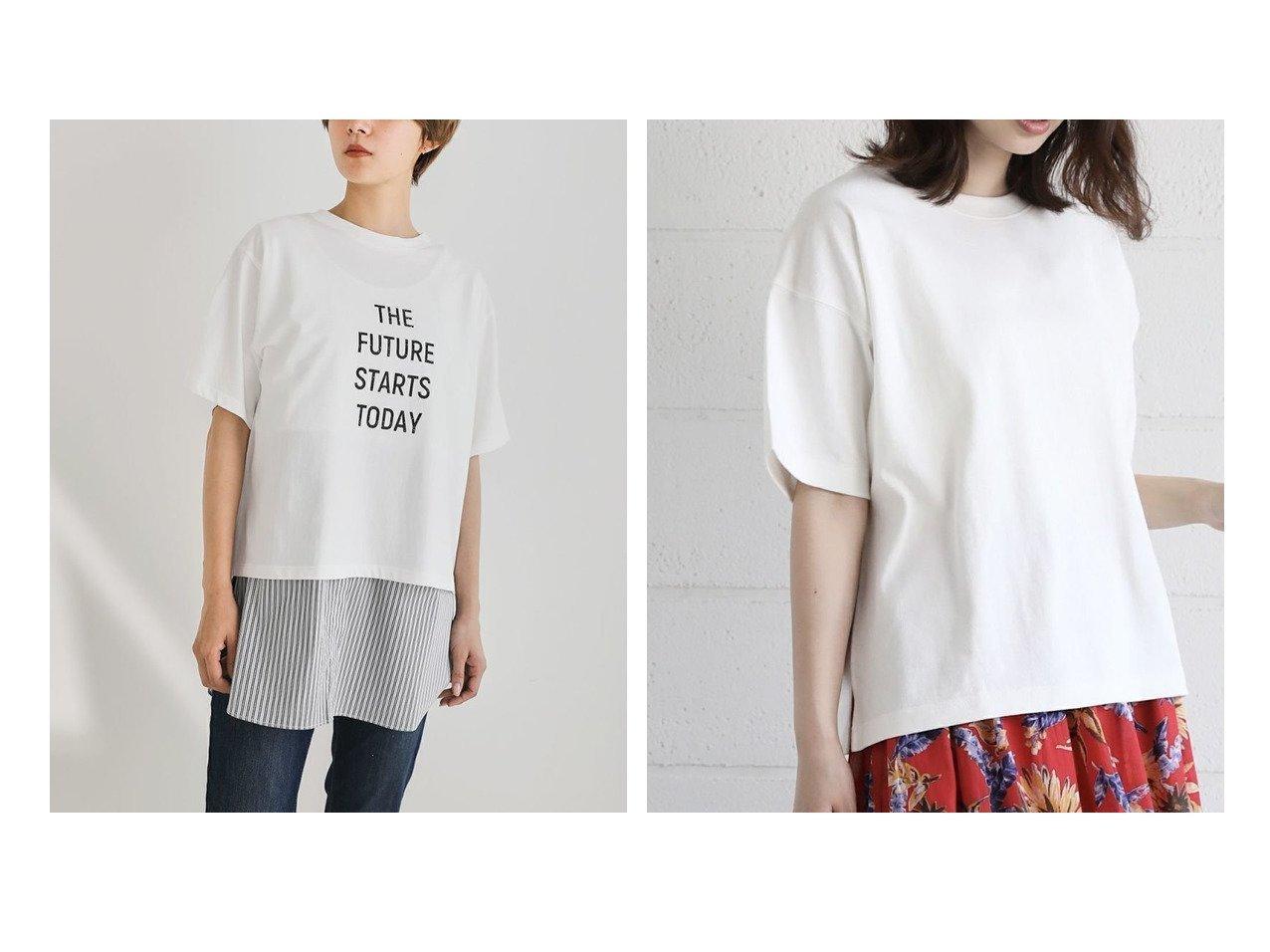 【Bou Jeloud/ブージュルード】のカットソーヘビーウエイトオーバーサイズTシャツ&シャツレイヤードインナー おすすめ!人気、トレンド・レディースファッションの通販  おすすめで人気の流行・トレンド、ファッションの通販商品 インテリア・家具・メンズファッション・キッズファッション・レディースファッション・服の通販 founy(ファニー) https://founy.com/ ファッション Fashion レディースファッション WOMEN トップス・カットソー Tops/Tshirt シャツ/ブラウス Shirts/Blouses ロング / Tシャツ T-Shirts カットソー Cut and Sewn インナー カットソー プチプライス・低価格 Affordable 羽織 シンプル ストレート スラックス センター デニム トレンド 洗える |ID:crp329100000054989
