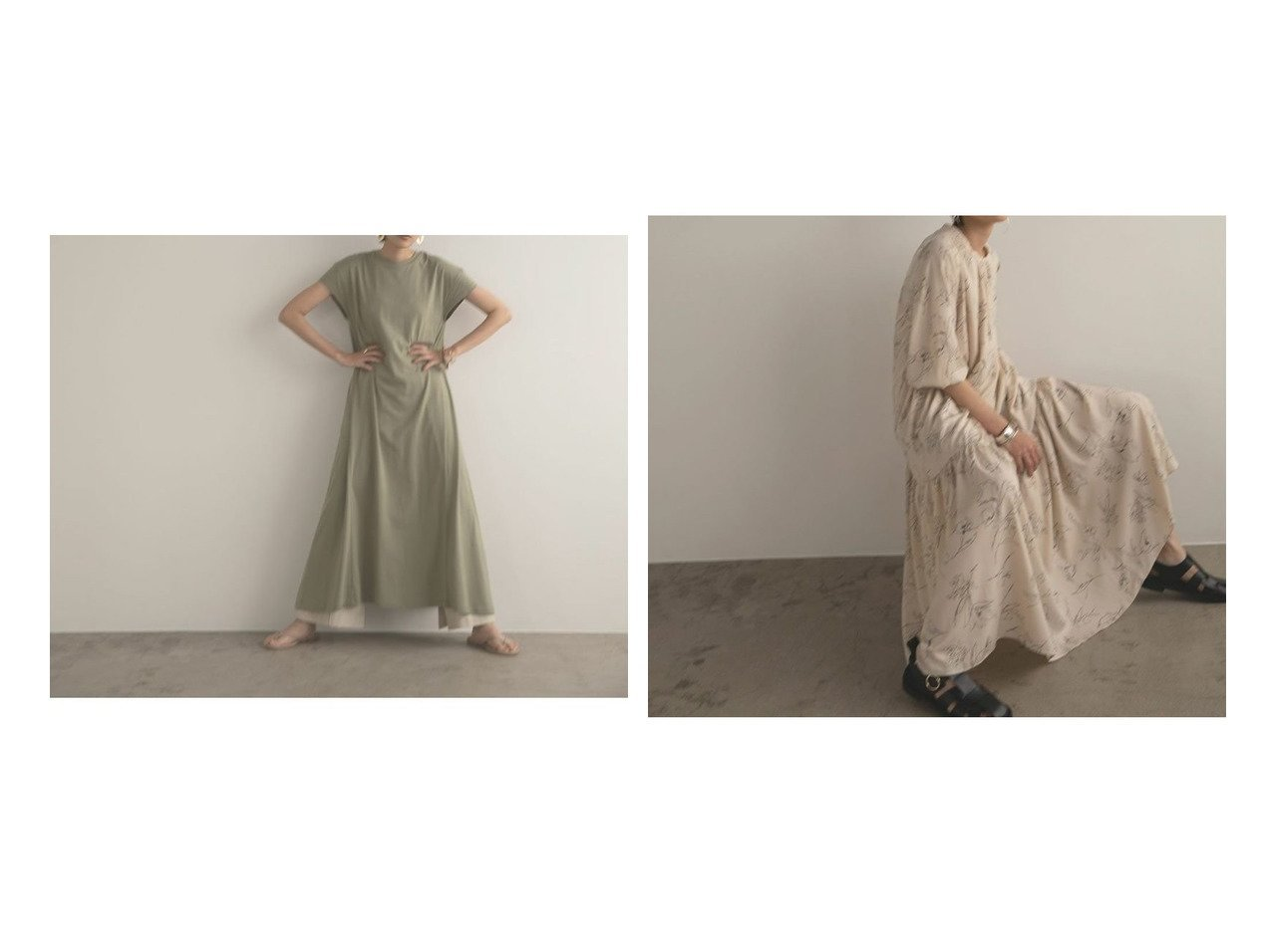【marjour/マージュール】のラインプリントワンピース LINE PRINT ONEPIECE&ロングTEEワンピース LONG TEE ONEPIECE おすすめ!人気、トレンド・レディースファッションの通販  おすすめで人気の流行・トレンド、ファッションの通販商品 インテリア・家具・メンズファッション・キッズファッション・レディースファッション・服の通販 founy(ファニー) https://founy.com/ ファッション Fashion レディースファッション WOMEN ワンピース Dress アンダー カットソー カーディガン コンパクト シンプル ジャケット スタイリッシュ フレア ロング 夏 Summer ギャザー シャーリング スリーブ ティアードワンピース バルーン ブラウジング プリント モヘア 冬 Winter 春 Spring 秋 Autumn/Fall  ID:crp329100000054997