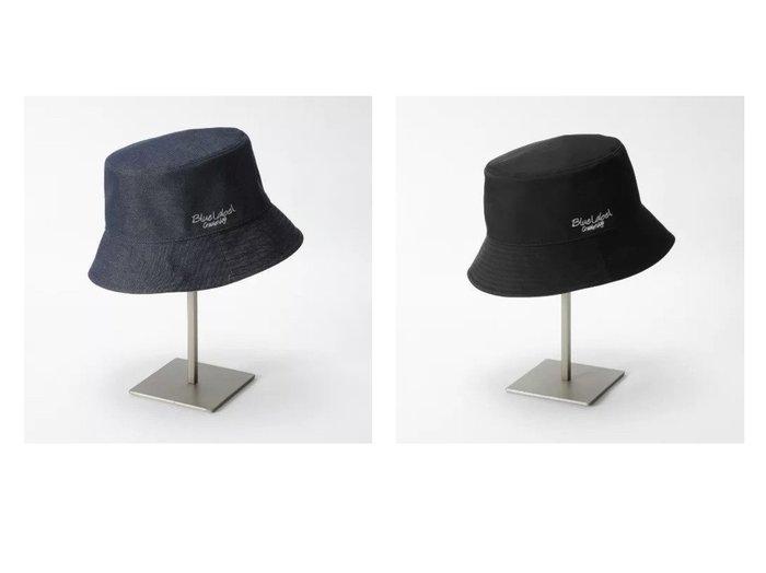 【BLUE LABEL CRESTBRIDGE/ブルーレーベル クレストブリッジ】のリバーシブルバケットハット おすすめ!人気、トレンド・レディースファッションの通販 おすすめ人気トレンドファッション通販アイテム 人気、トレンドファッション・服の通販 founy(ファニー) ファッション Fashion レディースファッション WOMEN 帽子 Hats リバーシブル ワンポイント 帽子 無地  ID:crp329100000055050
